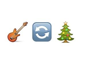 guitar arrows christmas tree
